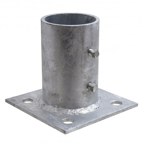 "3"" Domestic Floor Flanges - Pressed Steel (Fits 2 7/8"" OD)"