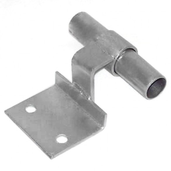 "2 1/2"" or 3"" Domestic Flat Back Safety Clamp On Holders (Fits 2 3/8"" and 2 7/8"" OD)"