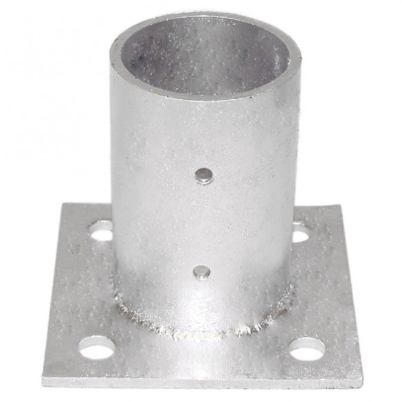 "4"" Domestic Floor Flanges - Pressed Steel"