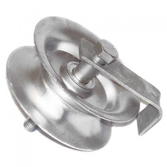 """7"""" Domestic Gate Roller and Axle"""