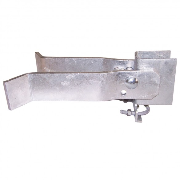 "2"" x 4"" Domestic Industrial Latches (Fits 1 5/8"" OD Gate Frames)"
