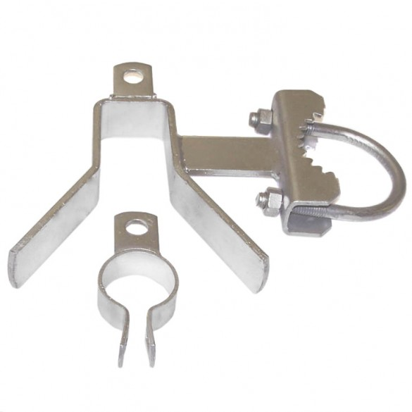 "6 5/8"" x 2"" Domestic Single Gate Latches"