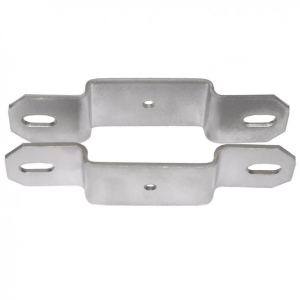 "2 1/2"" Post x 1 1/2"" Rail Domestic Square Line Rail Clamps"