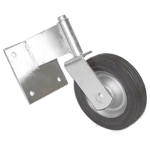 """Domestic Swivel Wood Gate Roller with 6"""" Wheel"""