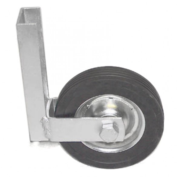 "Domestic Wood Gate Roller with 6"" Wheel"