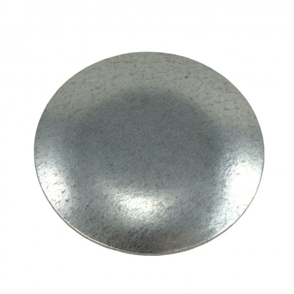 "3"" Domestic Weld On Caps - Pressed Steel (Fits 2 7/8"" OD)"