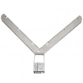 Standard Domestic V-Type Barb Arms for C-Posts - Pressed Steel