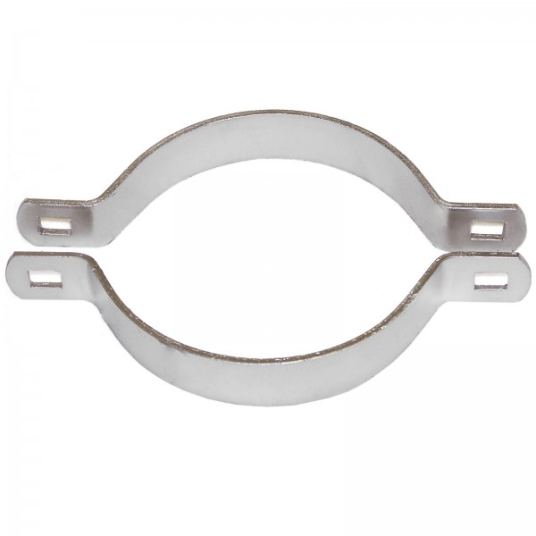 "2"" Domestic 2-Way Brace Bands - 11 Gauge x 1"" (Fits 1 7/8"" OD)"