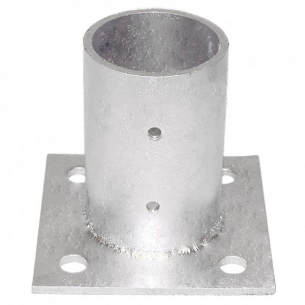"""4"""" Domestic Floor Flanges - Pressed Steel"""