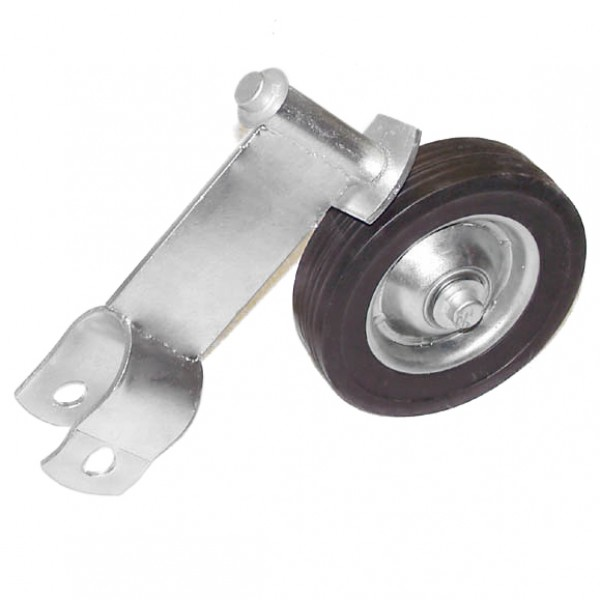 "1 5/8"" Domestic Swivel Gate Rollers with 6"" Rubber Wheels"