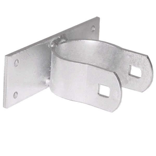 "2 1/2"" Domestic Heavy Line Wood Fence Adapters with Hinge Straps (Fits 2 3/8"" OD)"