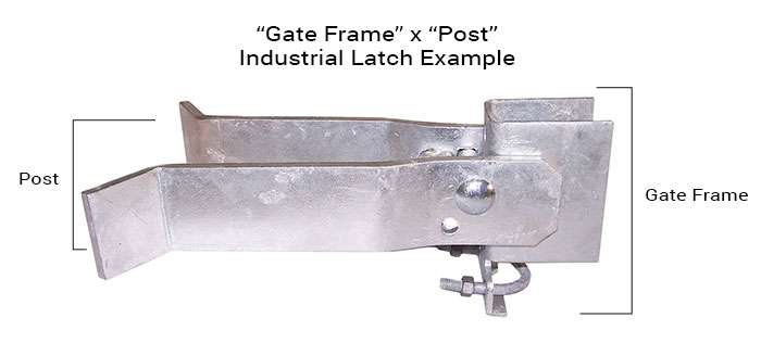 Industrial Latch Diagram